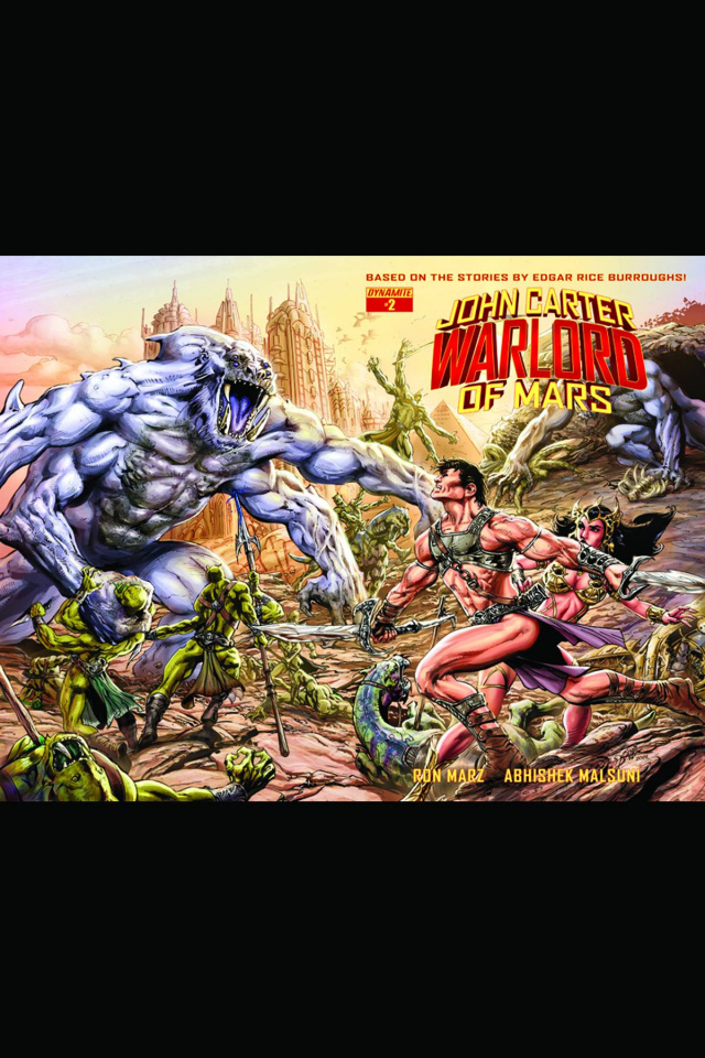 John Carter: Warlord of Mars #2 (Rare Castro Wraparound Cover)