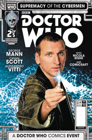 Doctor Who: Supremacy of the Cybermen #2 (Photo Cover)