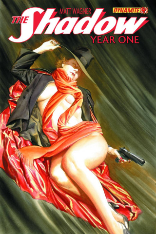 The Shadow: Year One #4 (Ross Cover)