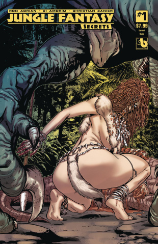 Jungle Fantasy: Secrets #1 (Lorelei Cover)
