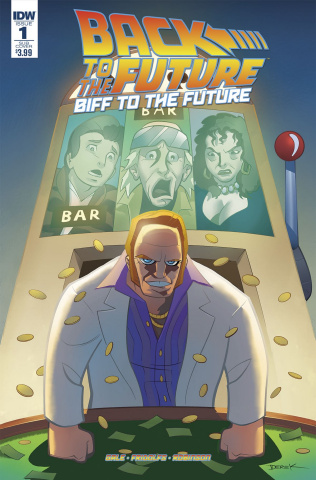 Back to the Future: Biff to the Future #1 (Subscription Cover)