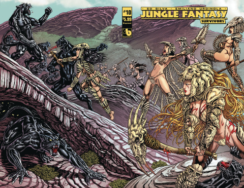 Jungle Fantasy: Survivors #10 (Wrap Cover)