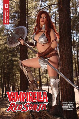 Vampirella / Red Sonja #12 (Nova Cosplay Cover)