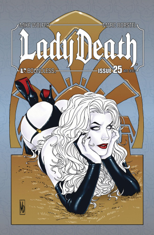 Lady Death #25 (Art Deco Variant Cover)