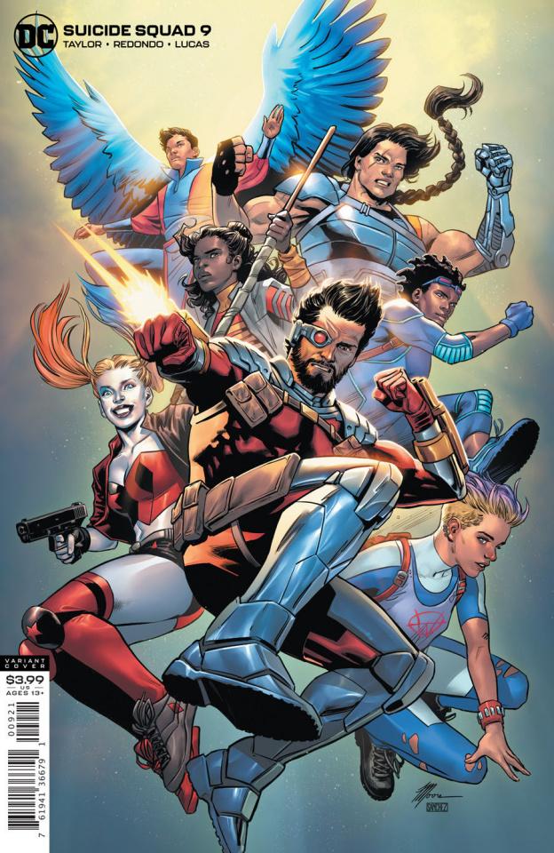 Suicide Squad #9 (Travis Moore Cover)
