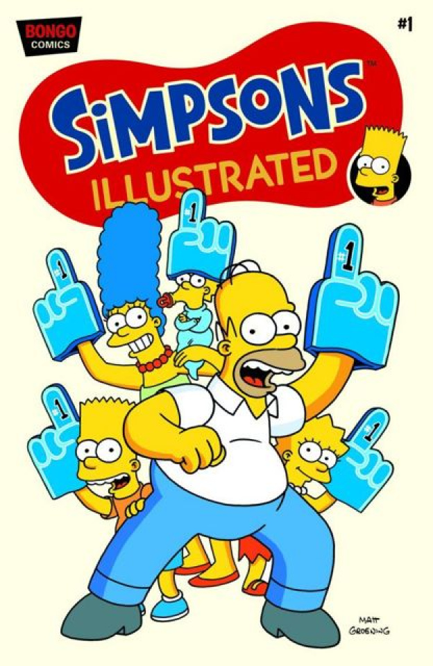 Simpsons Illustrated #1