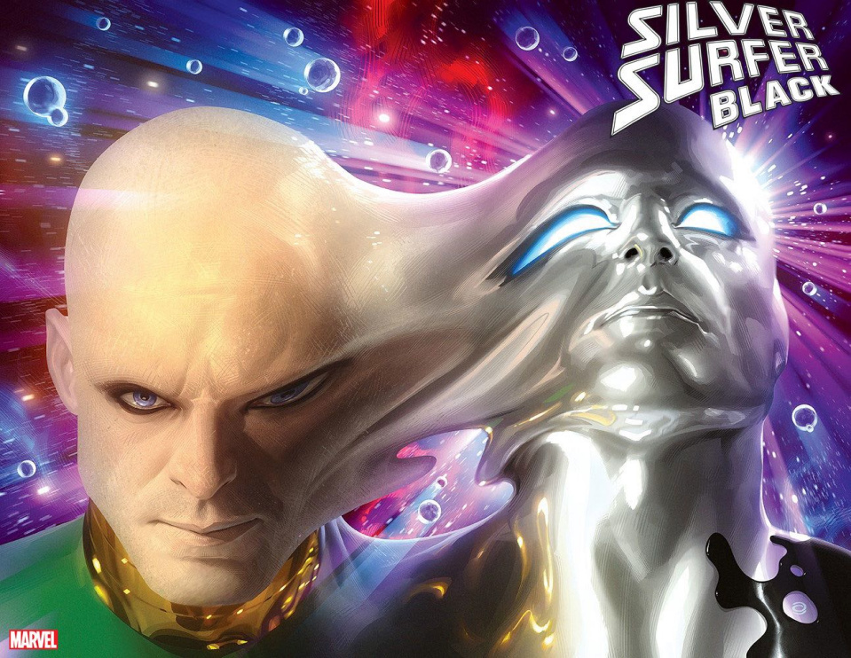 Silver Surfer: Black #4 (Garner Immortal Cover)