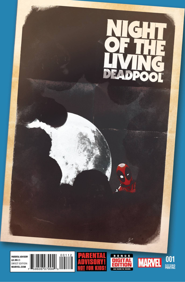 Night of the Living Deadpool #1 (2nd Printing)