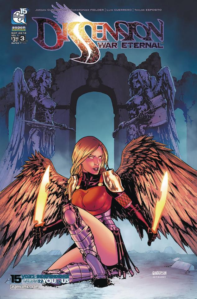 Dissension: War Eternal #3 (Gunderson Cover)