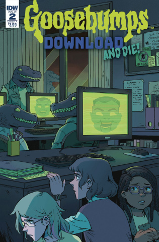 Goosebumps: Download and Die! #2 (Wong Cover)