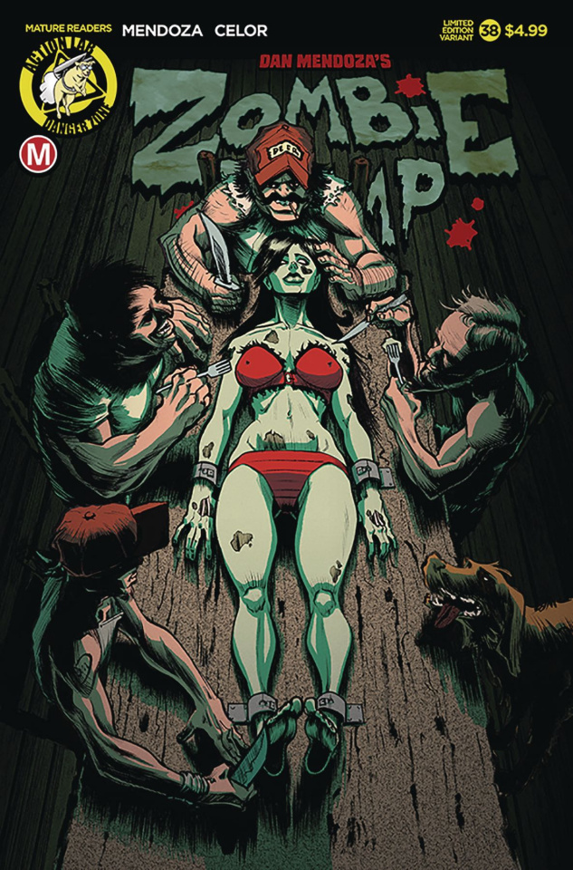 Zombie Tramp #38 (Dinner Time Cover)