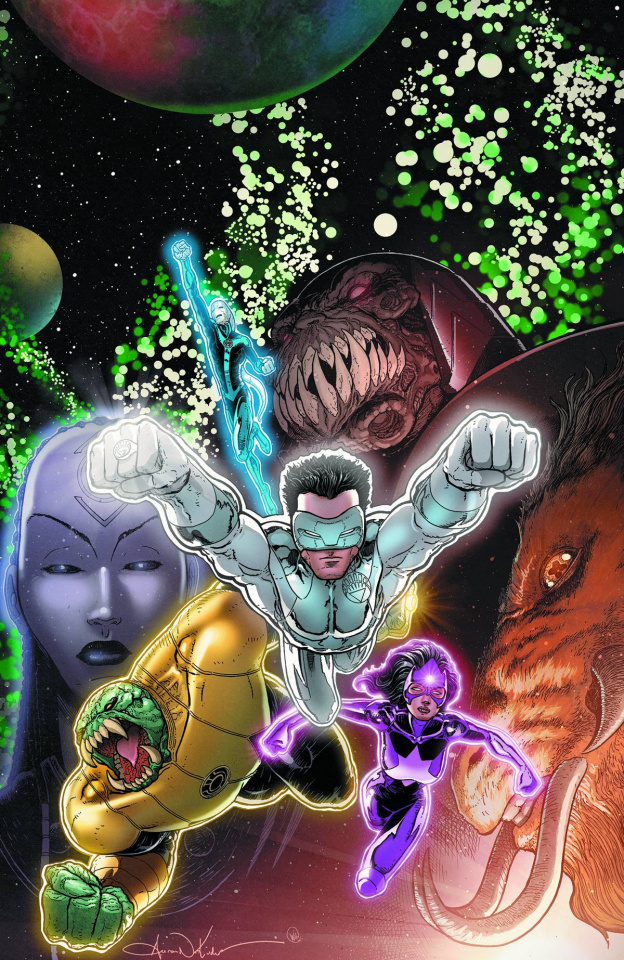 Green Lantern: New Guardians #20