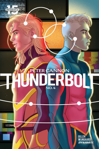 Peter Cannon: Thunderbolt #4 (Ganucheau Cover)