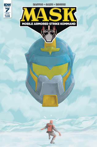 M.A.S.K.: Mobile Armored Strike Kommand #7 (Subscription Cover)