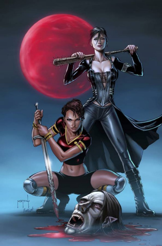 Grimm Fairy Tales: Robyn Hood #5 (Metcalf Cover)