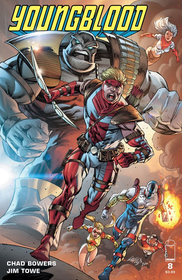 Youngblood #8 (Liefeld Cover)