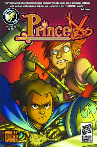 Princeless #4 (Encore Edition)