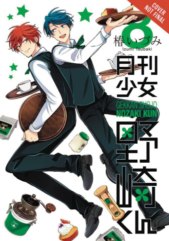 Monthly Girls' Nozaki-Kun Vol. 8