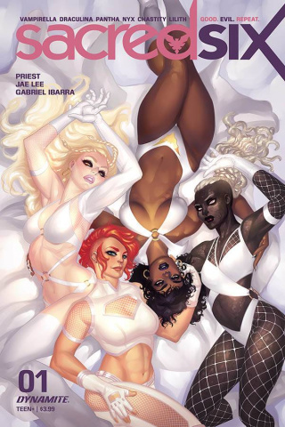 Sacred Six #1 (Hetrick Cover)