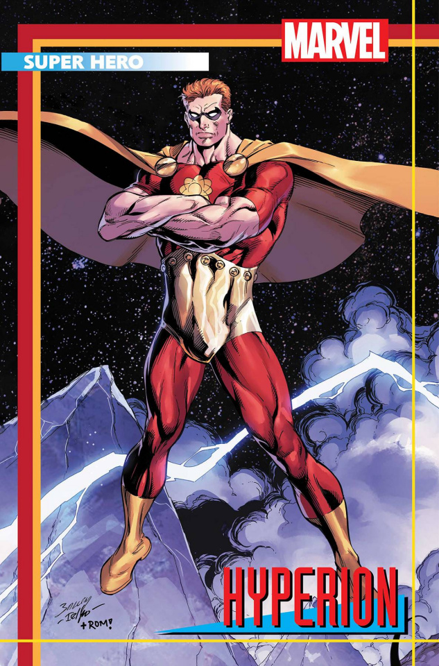 Heroes Reborn #2 (Bagley Trading Card Cover)
