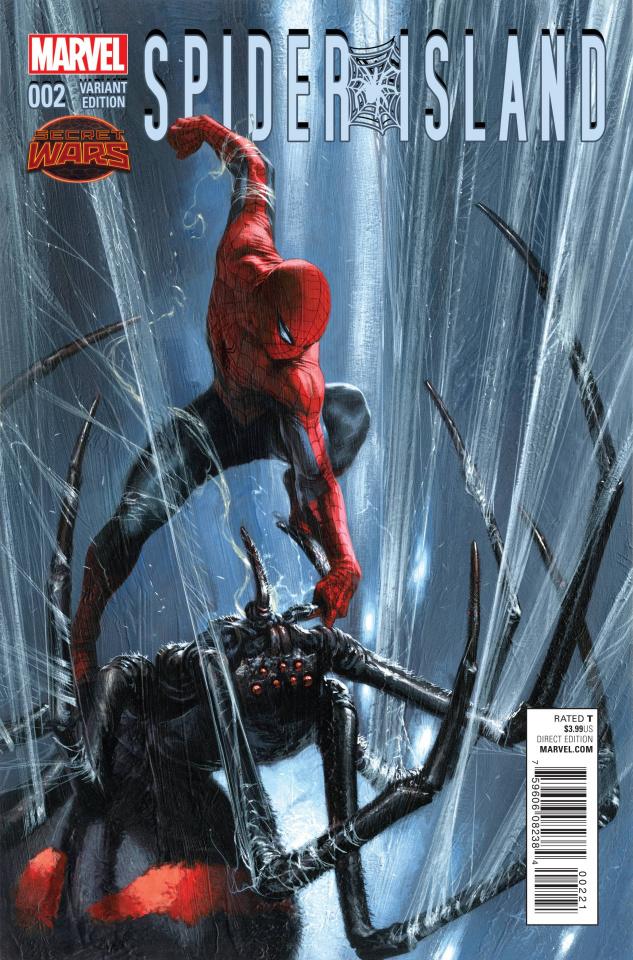 Spider-Island #2 (Dell'Otto Cover)