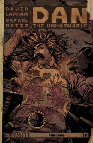 Dan the Unharmable #8 (Retro Cover)
