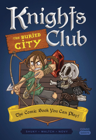 Comic Quests: The Buried City
