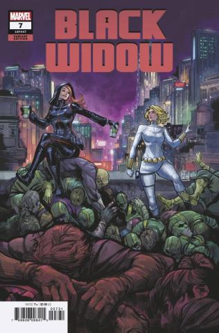 Black Widow #7 (Zitro Cover)