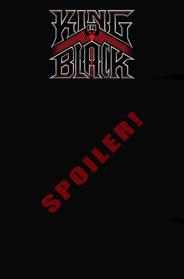 King in Black #5 (Stegman Spoiler Cover)