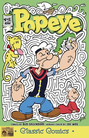Popeye Classics #35 (10 Copy Cover)