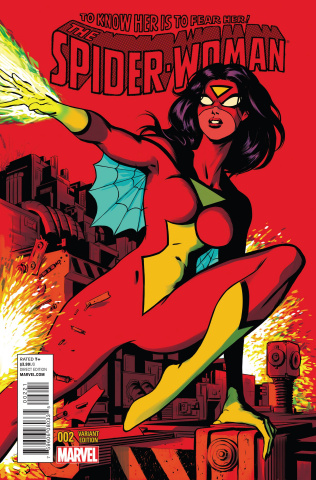 Spider-Woman #2 (Rodriguez Cover)