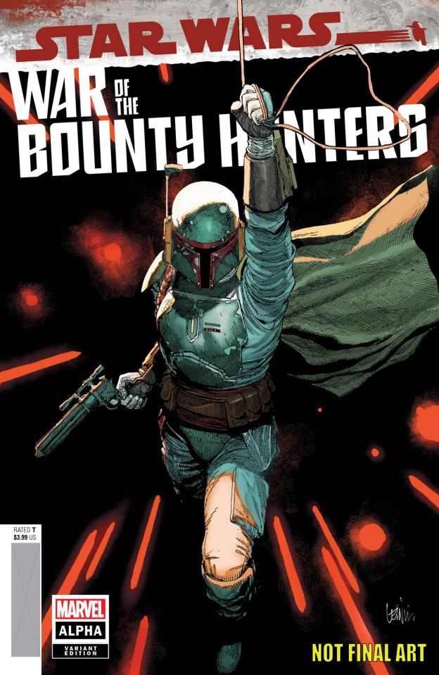 Star Wars: War of the Bounty Hunters - Alpha #1 (Yu Cover)
