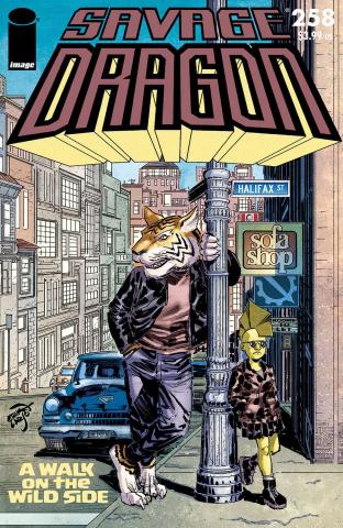 Savage Dragon #258 (Larsen Cover)