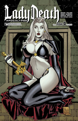 Lady Death: Apocalypse #0 (Sexy Cover)