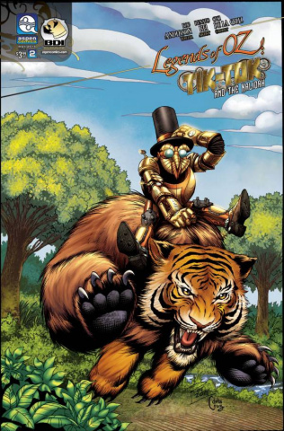The Legends of Oz: Tik Tok and the Kalidah #2 (Rei Cover)