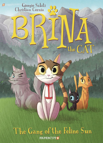 Brina the Cat Vol. 1: Gang of Feline Sun