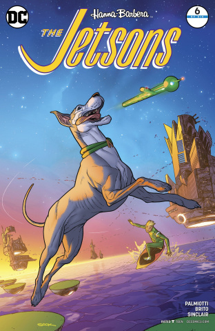 The Jetsons #6 (Variant Cover)