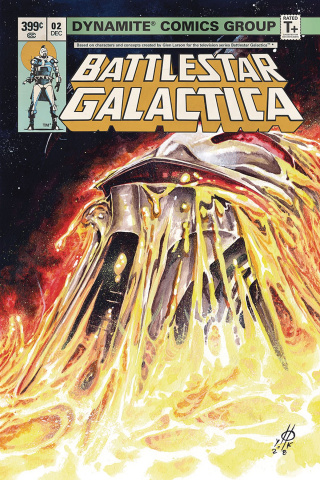 Battlestar Galactica Classic #2 (Rudy Cover)