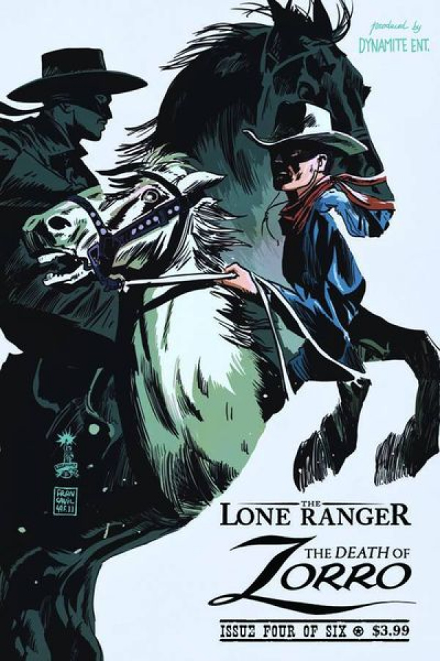 The Death of Zorro #4
