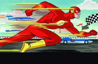 The Flash #37 (Darwyn Cooke Cover)