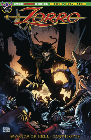 Zorro: Swords of Hell #2 (Martinez Cover)