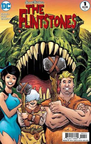 The Flintstones #1 (Barney & Betty Cover)