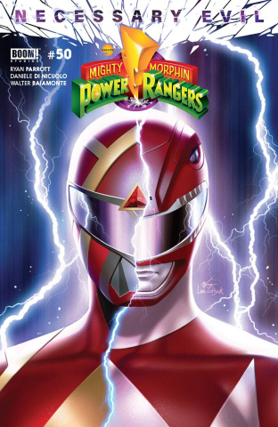 Mighty Morphin' Power Rangers #50 (Mora Cover)