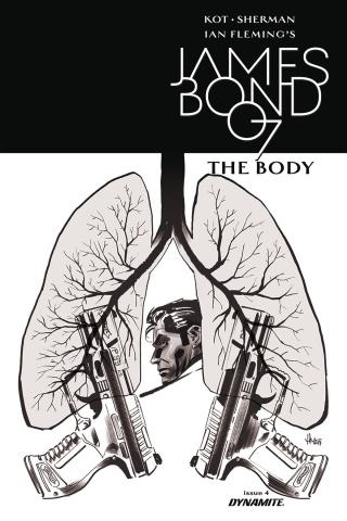 James Bond: The Body #5 (10 Copy Casalanguida B&W Cover)