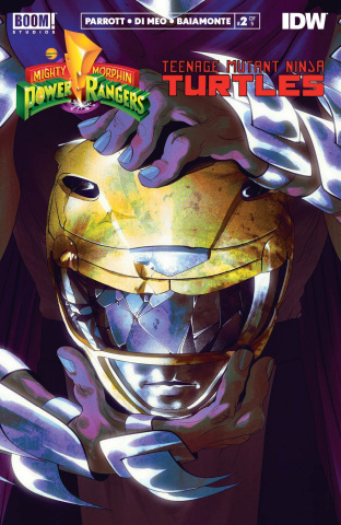 Power Rangers / Teenage Mutant Ninja Turtles #2 (2nd Printing)