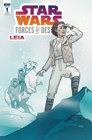 Star Wars Adventures: Forces of Destiny - Leia (20 Copy Cover)