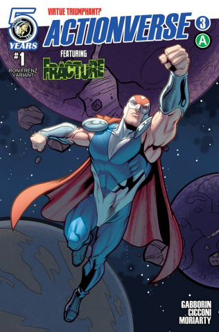 Actionverse #3 (Fracture Cover)