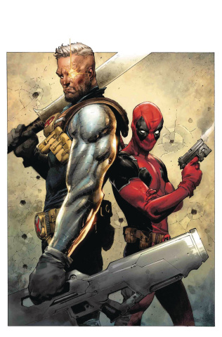 Deadpool #1 (Opena Cover)