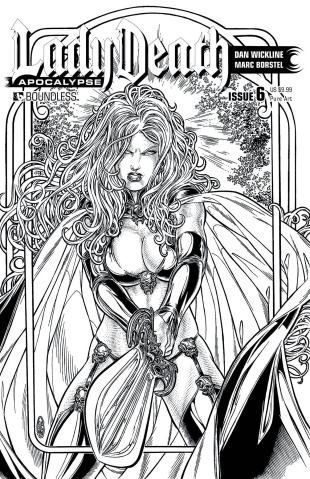 Lady Death: Apocalypse #6 (Premium Pure Art Cover)