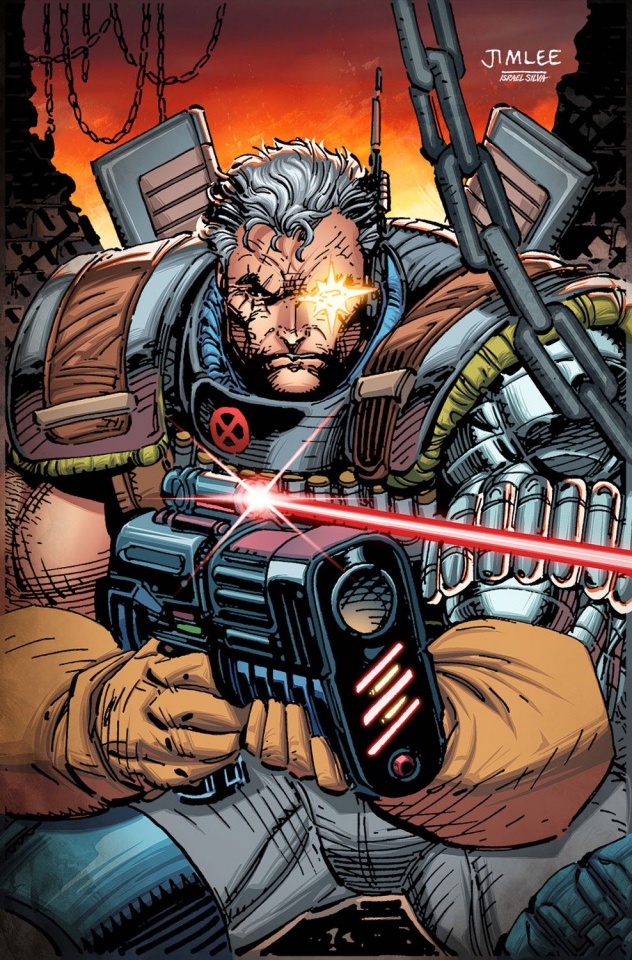 Cable #3 (X-Men Card Cover)